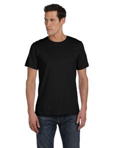 Black Unisex Made in the USA Jersey Short-Sleeve T-Shirt