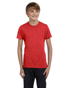 Red Youth Jersey Short-Sleeve T-Shirt