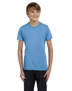 Blue Triblend Youth Jersey Short-Sleeve T-Shirt