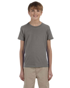 Grey Triblend Youth Jersey Short-Sleeve T-Shirt