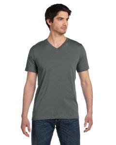Asphalt Unisex Jersey Short-Sleeve V-Neck T-Shirt