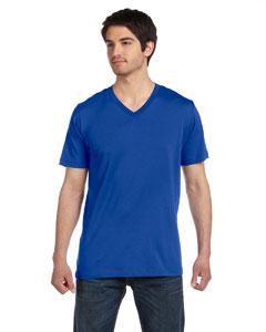 True Royal Unisex Jersey Short-Sleeve V-Neck T-Shirt
