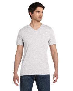 Ash Unisex Jersey Short-Sleeve V-Neck T-Shirt