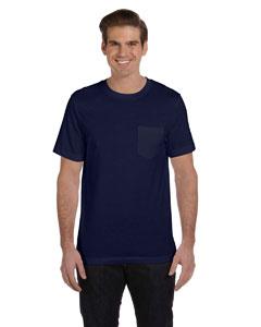Navy Men's Jersey Short-Sleeve Pocket T-Shirt