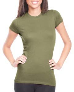 Light Olive Ladies' Perfect Tee
