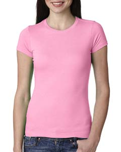Neon Hthr Pink Ladies' Perfect Tee