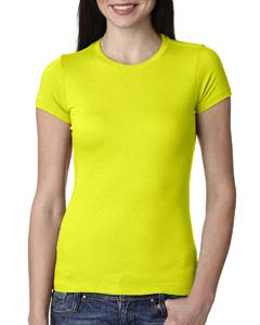 Neon Yellow Ladies' Perfect Tee