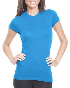 Turquoise Ladies' Perfect Tee