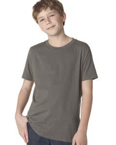 Warm Gray Boys' Premium Short-Sleeve Crew Tee