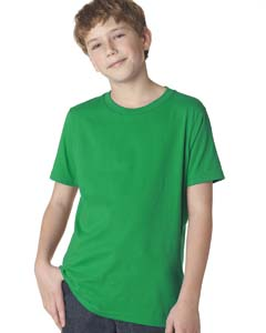 Kelly Green Boys' Premium Short-Sleeve Crew Tee
