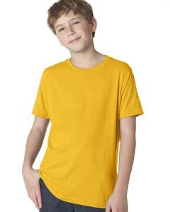 Gold Boys' Premium Short-Sleeve Crew Tee