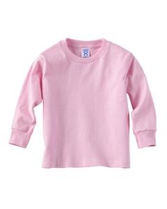 Pink Toddler 5.5 oz. Jersey Long-Sleeve T-Shirt