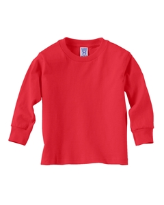 Red Toddler 5.5 oz. Jersey Long-Sleeve T-Shirt