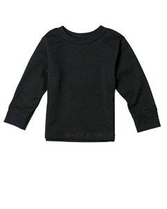 Black Toddler 5.5 oz. Jersey Long-Sleeve T-Shirt