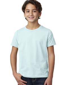 Ice Blue Boys' CVC Crew Tee