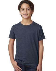 Midnight Navy Boys' CVC Crew Tee