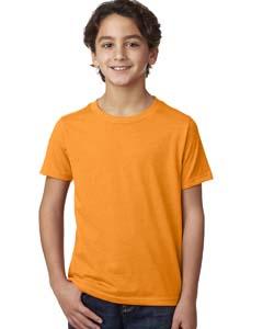 Orange Boys' CVC Crew Tee