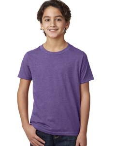 Purple Rush Boys' CVC Crew Tee