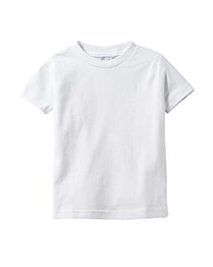 White Infant 4.5 oz. Fine Jersey T-Shirt