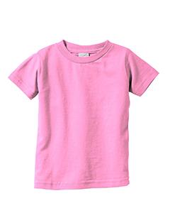 Pink Infant 4.5 oz. Fine Jersey T-Shirt