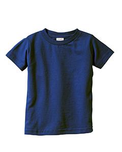 Navy Infant 4.5 oz. Fine Jersey T-Shirt