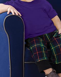 Purple Infant 4.5 oz. Fine Jersey T-Shirt