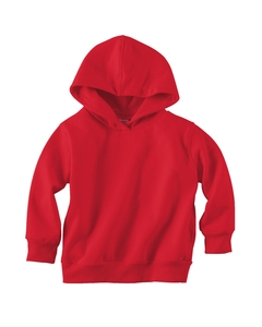 Red Toddler 7.5 oz. Fleece Pullover Hood