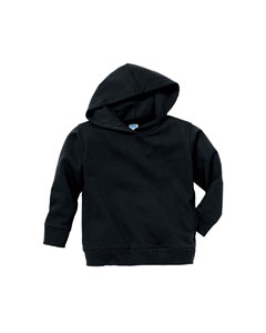 Black Toddler 7.5 oz. Fleece Pullover Hood