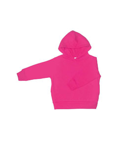 Raspberry Toddler 7.5 oz. Fleece Pullover Hood
