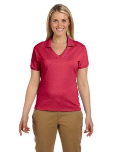 True Red Women's 5.6 oz., 50/50 Jersey Polo with SpotShield™