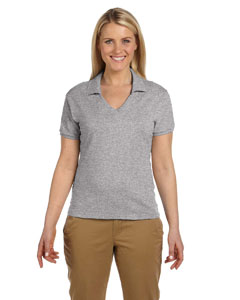 Oxford Women's 5.6 oz., 50/50 Jersey Polo with SpotShield™