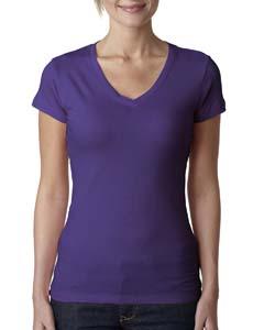 Purple Rush Ladies' Sporty V-Neck Tee