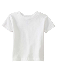 White Infant 5.5 oz. Short-Sleeve Jersey T-Shirt