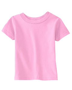 Pink Infant 5.5 oz. Short-Sleeve Jersey T-Shirt