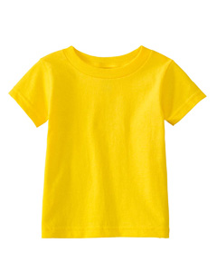 Yellow Infant 5.5 oz. Short-Sleeve Jersey T-Shirt