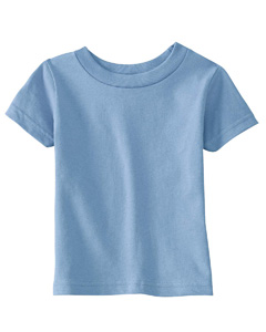 Light Blue Infant 5.5 oz. Short-Sleeve Jersey T-Shirt