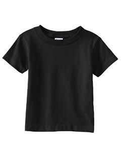 Black Infant 5.5 oz. Short-Sleeve Jersey T-Shirt