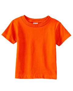 Orange Infant 5.5 oz. Short-Sleeve Jersey T-Shirt