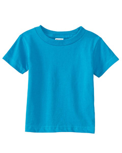 Turquoise Infant 5.5 oz. Short-Sleeve Jersey T-Shirt