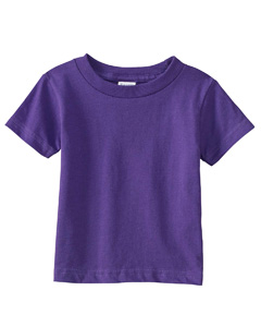 Purple Infant 5.5 oz. Short-Sleeve Jersey T-Shirt