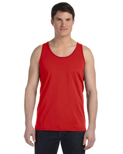 Red Unisex Jersey Tank