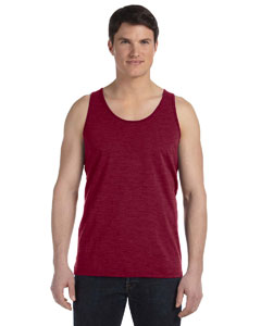 Red Triblend Unisex Jersey Tank