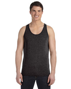 Charcoal Triblend Unisex Jersey Tank