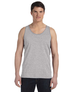 Athletic Heather Unisex Made in the USA Jersey Tank
