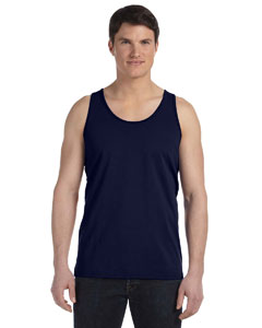 Navy Unisex Made in the USA Jersey Tank
