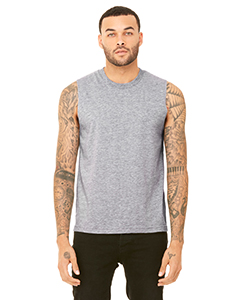Athletic Heather Unisex Jersey Muscle Tank