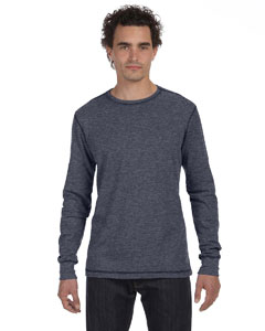 Deep Htr/deep Htr Men's Thermal Long-Sleeve T-Shirt