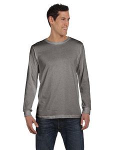 Grey Triblend Men's Jersey Long-Sleeve T-Shirt