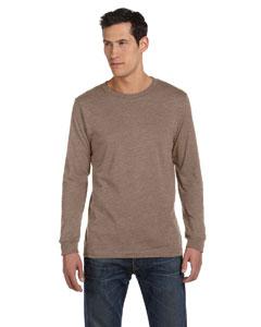 Heather Brown Men's Jersey Long-Sleeve T-Shirt