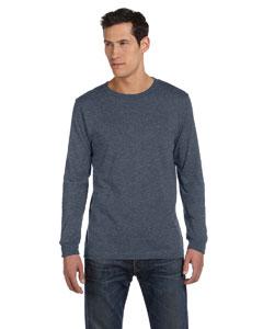 Deep Heather Men's Jersey Long-Sleeve T-Shirt